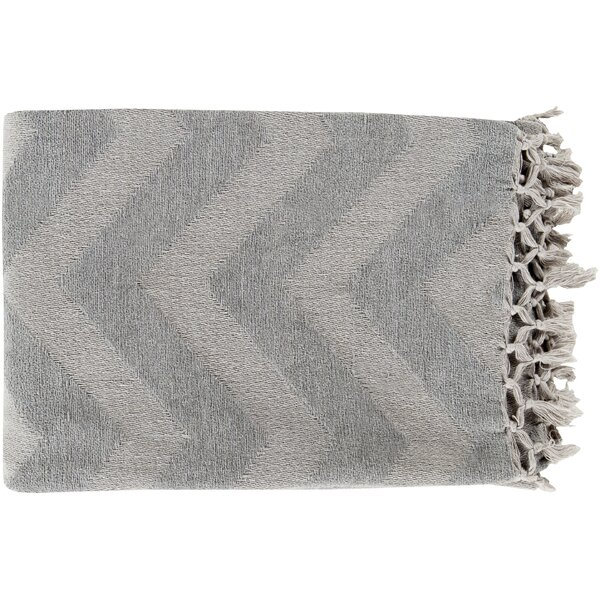 Manases 100% Cotton Throw Blanket by Mercury Row